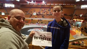 Click To Read More Feedback from Ohio State Buckeyes vs. University of Nebraska Cornhuskers - NCAA Wrestling
