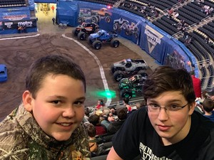 Kevin attended Monster Jam Triple Threat Series on Feb 8th 2019 via VetTix