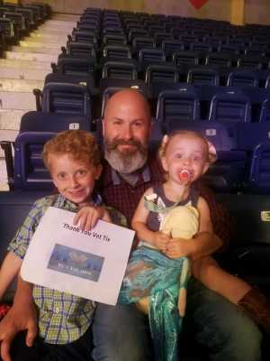 Darrell attended Disney on Ice Presents: Mickey's Search Party on May 16th 2019 via VetTix