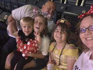 Joe attended Disney on Ice Presents: Mickey's Search Party on May 16th 2019 via VetTix