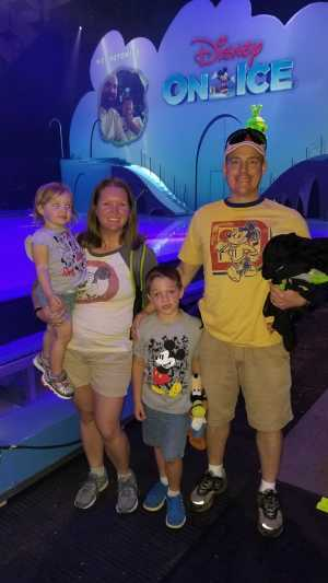 Julie attended Disney on Ice Presents: Mickey's Search Party on May 16th 2019 via VetTix