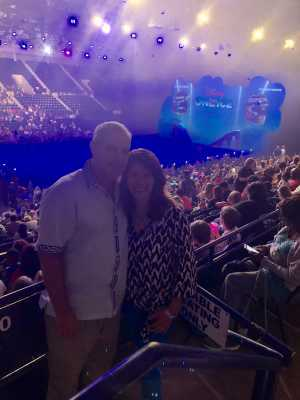 Christopher attended Disney on Ice Presents: Mickey's Search Party on May 16th 2019 via VetTix