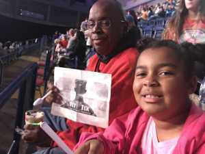 Lonnie attended Disney on Ice Presents: Mickey's Search Party on May 16th 2019 via VetTix