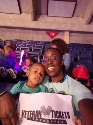 Ericka attended Disney on Ice Presents: Mickey's Search Party on May 16th 2019 via VetTix