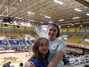 Joseph attended Lehigh University Mountain Hawks vs. Bucknell Bison - NCAA Women's Basketball on Feb 13th 2019 via VetTix