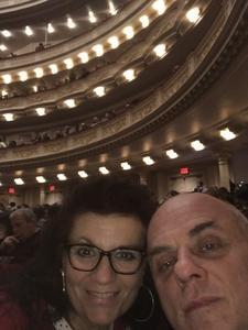 Al attended Sing! An Irish Christmas With Keith & Kristyn Getty, Tim Keller, Phil Keaggy, John Patitucci, Andrew Nemr, Sullivan Fortner, the Times Square Chur on Dec 13th 2018 via VetTix