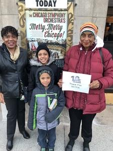 Click To Read More Feedback from The Chicago Symphony Orchestra's Merry Merry Chicago! For Ages 5 and Over
