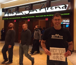 Gregory attended Reality Fighting - Live Mixed Martial Arts on Jan 5th 2019 via VetTix
