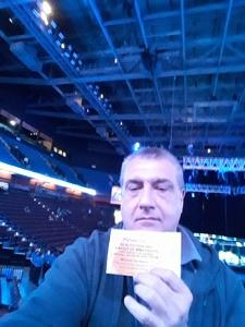Frank attended Reality Fighting - Live Mixed Martial Arts on Jan 5th 2019 via VetTix