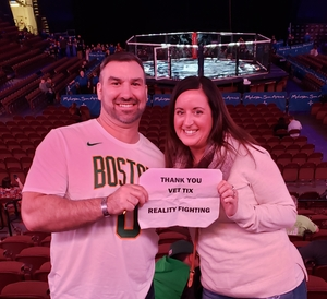 Albert attended Reality Fighting - Live Mixed Martial Arts on Jan 5th 2019 via VetTix