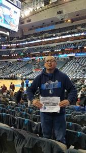 Jason attended Dallas Mavericks vs. Orlando Magic - NBA on Dec 10th 2018 via VetTix