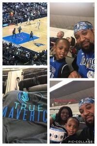 Damani attended Dallas Mavericks vs. Orlando Magic - NBA on Dec 10th 2018 via VetTix