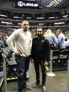 Bradley attended Dallas Mavericks vs. Orlando Magic - NBA on Dec 10th 2018 via VetTix