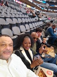 Boyd attended Dallas Mavericks vs. Orlando Magic - NBA on Dec 10th 2018 via VetTix