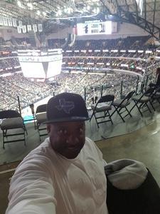 Anthony attended Dallas Mavericks vs. Orlando Magic - NBA on Dec 10th 2018 via VetTix