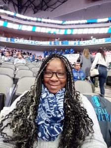 Lakeisha attended Dallas Mavericks vs. Orlando Magic - NBA on Dec 10th 2018 via VetTix