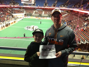 Click To Read More Feedback from New England Blackwolves vs. Georgia Swarm - National Lacrosse League