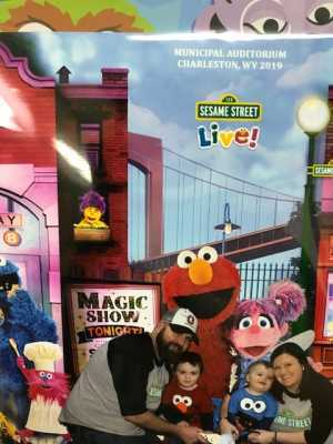 Holley attended Sesame Street Live! Make Your Magic on Mar 2nd 2019 via VetTix