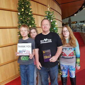 Bruce attended A Christmas Carol - the Musical at 2 PM on Dec 15th 2018 via VetTix