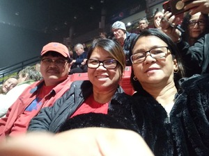 Emmanuel attended Barry Manilow - a Very Barry Christmas! - Adult Contemporary on Dec 13th 2018 via VetTix