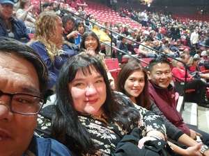 Teofilo attended Barry Manilow - a Very Barry Christmas! - Adult Contemporary on Dec 13th 2018 via VetTix