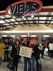 SCOTT attended Barry Manilow - a Very Barry Christmas! - Adult Contemporary on Dec 13th 2018 via VetTix