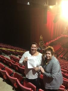 Dennis attended Barry Manilow - a Very Barry Christmas! - Adult Contemporary on Dec 13th 2018 via VetTix