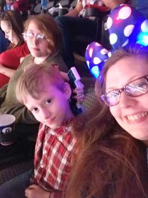 William attended Disney on Ice Presents: Mickey's Search Party on Mar 28th 2019 via VetTix
