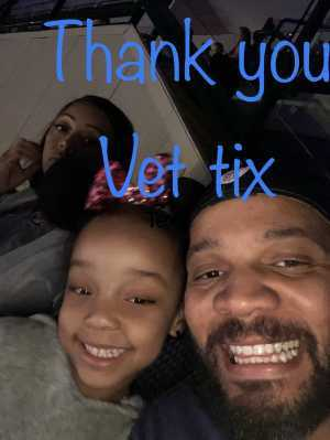 Gerald attended Disney on Ice Presents: Mickey's Search Party on Mar 28th 2019 via VetTix