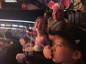 Vin attended Disney on Ice Presents: Mickey's Search Party on Mar 28th 2019 via VetTix