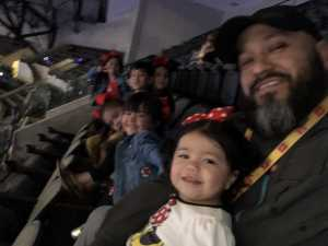 Gilberto attended Disney on Ice Presents: Mickey's Search Party on Mar 28th 2019 via VetTix