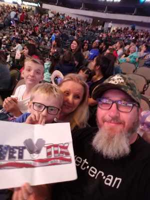Joshua attended Disney on Ice Presents: Mickey's Search Party on Mar 28th 2019 via VetTix