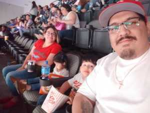 Francisco attended Disney on Ice Presents: Mickey's Search Party on Mar 28th 2019 via VetTix