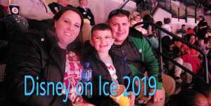 Daniel attended Disney on Ice Presents: Mickey's Search Party on Mar 28th 2019 via VetTix
