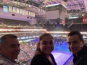 EDGAR attended Disney on Ice Presents: Mickey's Search Party on Mar 28th 2019 via VetTix