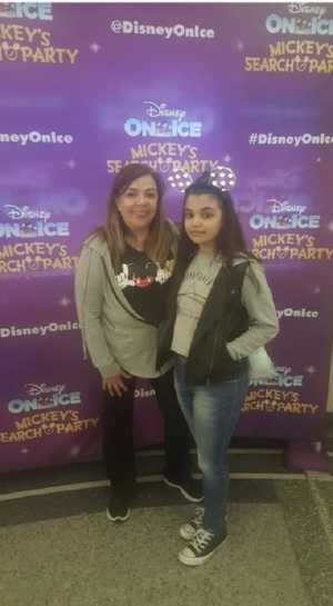 JANET attended Disney on Ice Presents: Mickey's Search Party on Mar 28th 2019 via VetTix