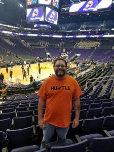 Ramon attended Phoenix Suns vs. Dallas Mavericks - NBA on Dec 13th 2018 via VetTix
