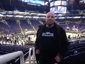 James attended Phoenix Suns vs. Dallas Mavericks - NBA on Dec 13th 2018 via VetTix