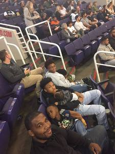 Charles attended Phoenix Suns vs. Dallas Mavericks - NBA on Dec 13th 2018 via VetTix