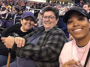 kesha attended Phoenix Suns vs. Dallas Mavericks - NBA on Dec 13th 2018 via VetTix