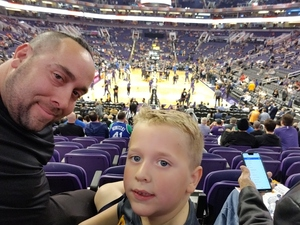 Jeff attended Phoenix Suns vs. Dallas Mavericks - NBA on Dec 13th 2018 via VetTix