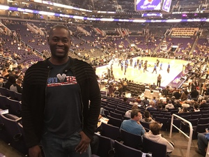 Patrick attended Phoenix Suns vs. Dallas Mavericks - NBA on Dec 13th 2018 via VetTix