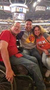 Armando attended Phoenix Suns vs. Dallas Mavericks - NBA on Dec 13th 2018 via VetTix
