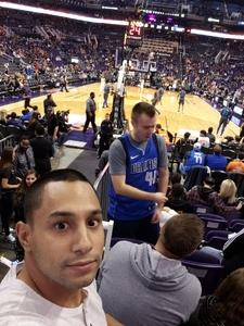 Joshua attended Phoenix Suns vs. Dallas Mavericks - NBA on Dec 13th 2018 via VetTix