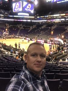 Brian attended Phoenix Suns vs. Dallas Mavericks - NBA on Dec 13th 2018 via VetTix