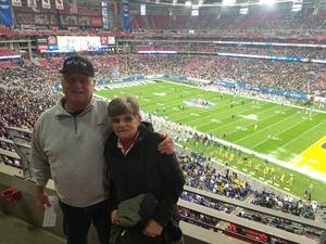 Edward attended Playstation Fiesta Bowl - Louisiana State University vs. University of Central Florida on Jan 1st 2019 via VetTix