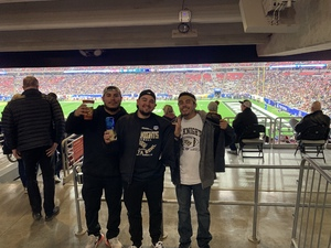 Gilbert attended Playstation Fiesta Bowl - Louisiana State University vs. University of Central Florida on Jan 1st 2019 via VetTix