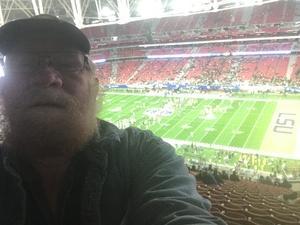 gary attended Playstation Fiesta Bowl - Louisiana State University vs. University of Central Florida on Jan 1st 2019 via VetTix