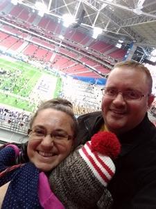 Joseph attended Playstation Fiesta Bowl - Louisiana State University vs. University of Central Florida on Jan 1st 2019 via VetTix