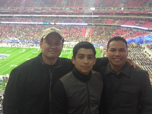 Rodolfo attended Playstation Fiesta Bowl - Louisiana State University vs. University of Central Florida on Jan 1st 2019 via VetTix